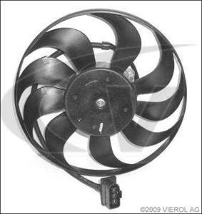 Ventilator, motorkjøling, Høyre, Venstre