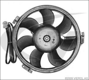 Elektromotor, kølerventilator