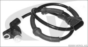 ABS-givare, Sensor, hjulvarvtal, Framaxel, Fram, höger eller vänster