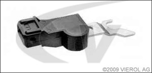 Impulsensor, krumtapaksel