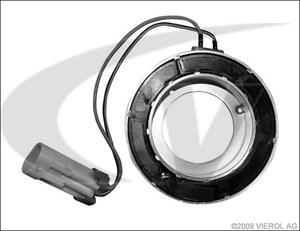 Spole, magnetkoppling, kompressor