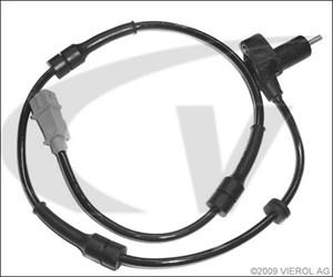 Bildel: ABS-givare, Sensor, hjulvarvtal, Bak, Bakaxel, Framaxel, Bak, höger eller vänster, Höger, Vänster