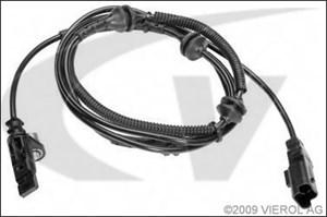 Sensor, hjulturtall, Bakaksel, Bak, høyre eller venstre