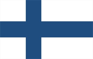 FLAGGA - FINLAND - POLYESTER