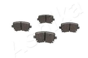Brake Pad Set, disc brake, Rear axle