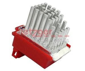 Styreapparat, oppvarming / ventilasjon, Bak, Foran