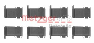 Accessory Kit, disc brake pads, Front axle