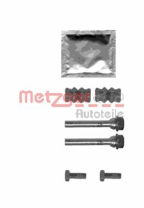 Guide Sleeve Kit, brake caliper, Front axle, Rear axle