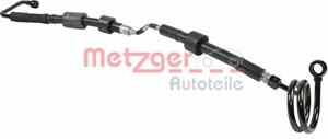 Hydraulikkslange, styring, Fra hydraulikkpumpe til styresnekke
