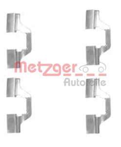 Accessory Kit, disc brake pads, Rear