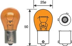 Glødelampe,  blinklys