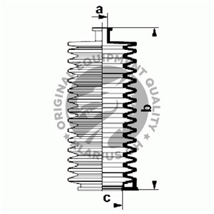 Reservdel:Citroen Zx Dammskydd, styrsystem