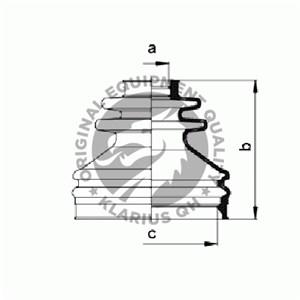 Reservdel:Ford Galaxy Dammskydd, drivaxel, Inre, Höger fram