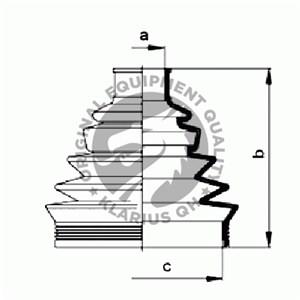 Paljekumisarja, vetoakseli, Pyörän puoli