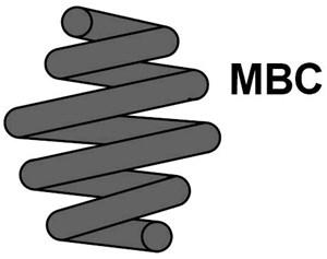 Reservdel:Bmw 316 Spiralfjäder, Bakaxel