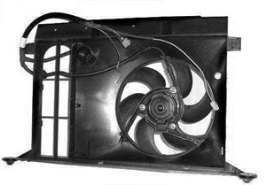 Ventilator, motorkjøling
