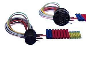 Reparasjonssett, kabelsett, Bak, Høyre eller venstre, Kjøretøydør