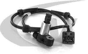 Sensor, hjulturtall, Bak, Bakaksel