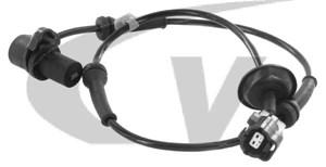 ABS-givare, Sensor, hjulvarvtal, Bakaxel, Framaxel, Höger, Vänster