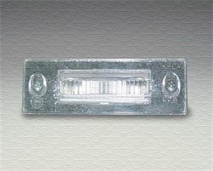 Nummerskiltlys, Høyre, Venstre