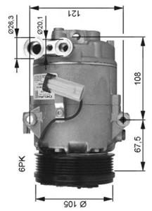 Kompressor, klimaanlegg