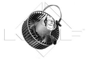 Elektromotor, kupévifte