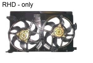 Fan, radiator, Left, Right