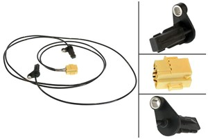 ABS-givare, Sensor, hjulvarvtal, Bak, Bakaxel