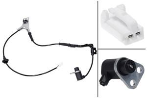 ABS Sensor, Bag, Bagaksel højre, Højre