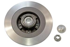 Brake Disc, Rear axle, Left, Right