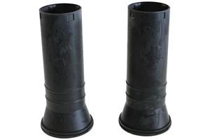 Støvdeksel, støtdemper, Framaksel, Høyre, Venstre