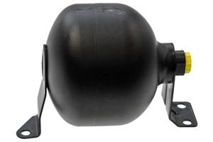 Trykkakkumulator, fjæring / demping, Bakaksel, Framaksel