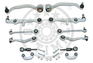 Link Set, wheel suspension, Front axle
