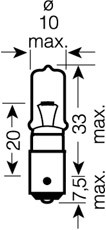 Glødelampe, ryggelys, Bak, Foran, Foran eller bak