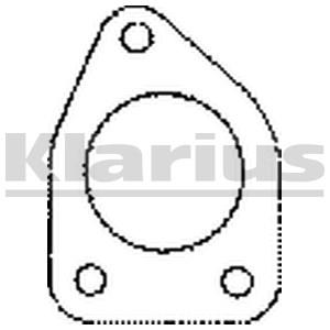 Gasket Exhaust Pipe P217975
