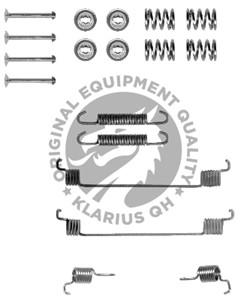 Tilbehørssæt, bremsebakker, Bag, Bagaksel