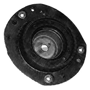 Suspension Strut Support Bearing, Front axle left, Left front
