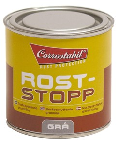 Rost Stopp grundfärg grå burk 250 ml, Universal