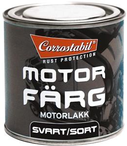 Motorfärg svart burk 250 ml, Universal