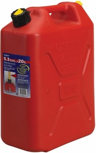 Bränsledunk 20L / Röd
