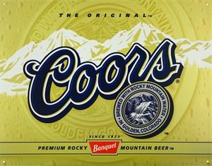 Blikkskilt/Coors Label, Universal