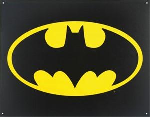 Blikkskilt/Batman Logo, Universal