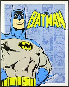 Blikkskilt/Batman Retro panels, Universal