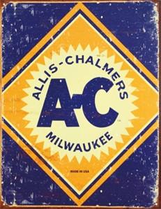 Blikkskilt/Allis Chalmers Logo, Universal