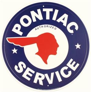 Blikkskilt/GM Pontiac Service, Universal