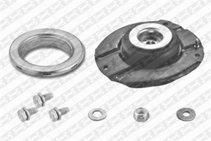Repair Kit, suspension strut, Front, Left