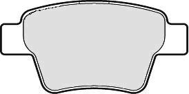 Bremseklodser, Foran