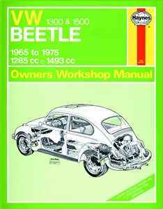 Haynes Reparationshandbok, Volkswagen Beetle 1300 och 1500, Universal