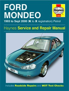Haynes Reparationshandbok, Ford Mondeo Petrol, Universal