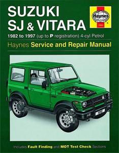 Haynes Reparationshandbok, Suzuki SJ Series, Samurai Vitara, Universal